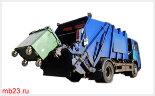 Контейнер для мусора металлический 1,1 м3 с крышкой на колесах D160