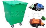 Мусорный контейнер 0,75 м3 металл 1,5 мм с крышкой на колесах 160