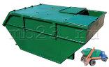 Бункер для мусора 8 м3 с крышкой