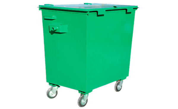 Мусорный контейнер 0,8 м3 металл 1,5 мм