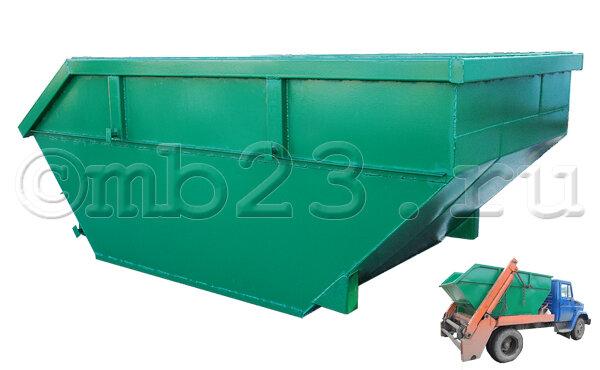 Бункер для мусора 6 м3